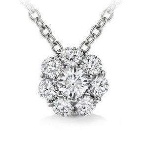 Jewelry - 4.80 ct round brilliant prong setting diamond pend